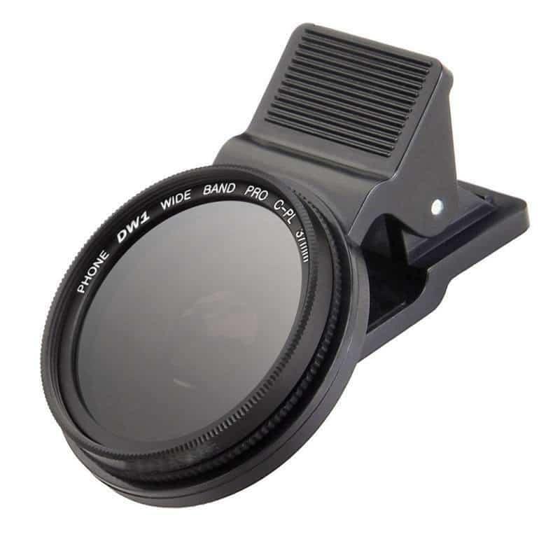 polarizado CPL port/átil universal circular 37 mm Filtro de fotograf/ía profesional para lentes de c/ámara